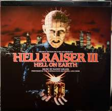Randy Miller: Filmmusik: Hellraiser III: Hell On Earth (Anniversary Edition) (remastered) (Red with Black Smoke Vinyl), 2 LPs