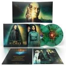 Jeff Russo: Filmmusik: Star Trek Picard (Limited Edition) (Translucent Green Multi Splatter Vinyl), 2 LPs