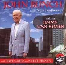 John Bunch (1921-2010): At The Nola Playhouse: Salutes Jimmy Van Heusen, CD