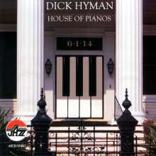 Dick Hyman (geb. 1927): House Of Pianos, CD