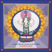 Lama Lobsang Palden & Jim Becker: Compassion, LP