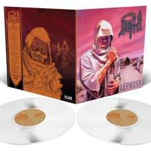 Death (Metal): Leprosy (Limited-Edition) (Milky Clear Vinyl), 2 LPs