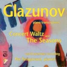 Alexander Glasunow (1865-1936): Die Jahreszeiten op.67 (Fassung für Klavier), CD