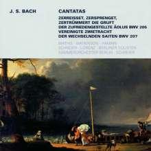 Johann Sebastian Bach (1685-1750): Weltliche Kantaten Bwv, CD