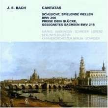 Johann Sebastian Bach (1685-1750): Kantaten BWV 206 & 215, CD