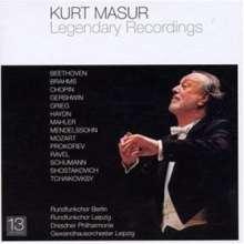 Kurt Masur - Legendary Recordings, 13 CDs