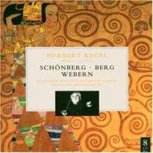 Herbert Kegel dirigiert Schönberg, Berg, Webern, 8 CDs