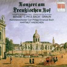 Konzerte am preußischen Hof, CD