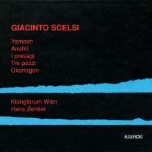Giacinto Scelsi (1905-1988): Ananith für Violine & 18 Instrumente, CD