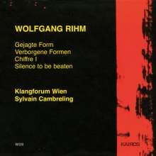 Wolfgang Rihm (geb. 1952): Gejagte Form, CD