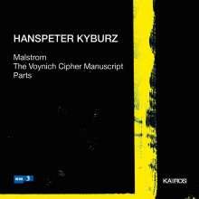 """Hanspeter Kyburz (geb. 1960): Konzert für Ensemble """"Parts"""", CD"""
