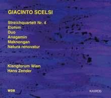 Giacinto Scelsi (1905-1988): Streichquartett Nr.4, CD