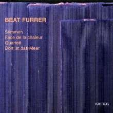 Beat Furrer (geb. 1954): Dort ist das Meer für Chor & Orchester, CD