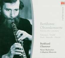 Burkhard Glaetzner spielt berühmte Oboenkonzerte, CD