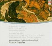 "Franz Schubert (1797-1828): Streichquartett Nr.14 ""Der Tod & das Mädchen"" (orch.Mahler), CD"