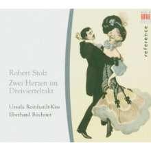 "Robert Stolz (1880-1975): Melodien ""Zwei Herzen im Dreivierteltakt"", CD"