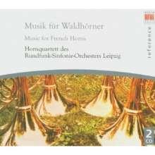Musik für Waldhornquartett, 2 CDs