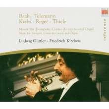 Ludwig Güttler - Musik für Trompete & Orgel, CD