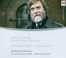 Burkhard Glaetzner spielt Oboenkonzerte, CD