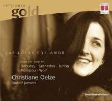 Christiane Oelze - Las locas por amor, CD