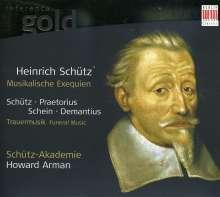 Trauermusiken des 17.Jahrhunderts, CD
