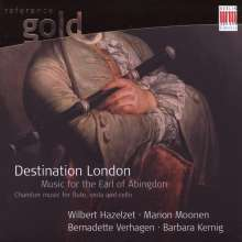 Destination London - Music for the Earl of Abingdon, CD