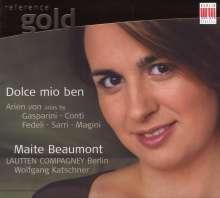Maite Beaumont - Dolce mio ben, CD
