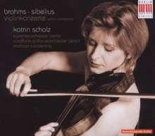 Katrin Scholz spielt Violinkonzerte, CD