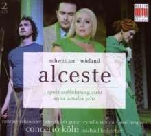 Anton Schweitzer (1735-1787): Alceste, 2 CDs