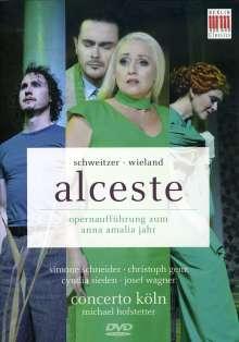 Anton Schweitzer (1735-1787): Alceste, DVD