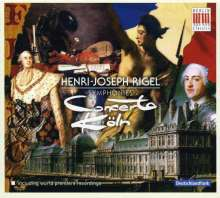 Henri-Joseph Rigel (1741-1799): Symphonien Nr.4,7,8,10,14, CD