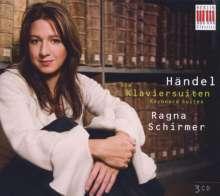 Georg Friedrich Händel (1685-1759): Die Cembalosuiten, 3 CDs