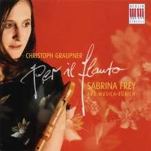 Christoph Graupner (1683-1760): Concerto,Sonate e Ouverture per il flauto, CD