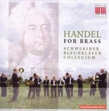 Schweriner Blechbläser-Collegium - Händel For Brass, CD