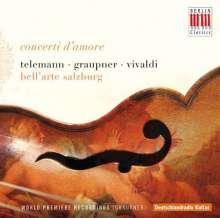 Christoph Graupner (1683-1760): Ouvertüre F-Dur GWV 450, CD