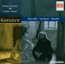 Britta Schwarz - Kantaten für Alt & Bc, CD
