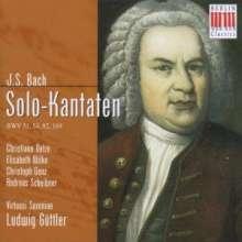 Johann Sebastian Bach (1685-1750): Kantaten BWV 51,54,82,169, CD