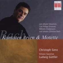 Christoph Genz - Kantaten,Motetten,Arien der Bach-Familie, CD