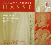 Johann Adolph Hasse (1699-1783): Te Deum G-Dur, CD