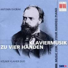 Antonin Dvorak (1841-1904): Klavierwerke zu 4 Händen, CD