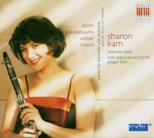 Sharon Kam spielt Klarinettenkonzerte, CD