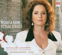 Richard Strauss (1864-1949): Orchesterlieder, CD