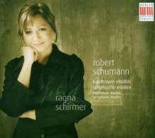 Robert Schumann (1810-1856): Etüden (Variationen) über ein Beethoven-Thema WoO 31, CD