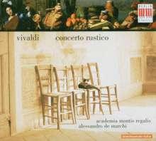 """Antonio Vivaldi (1678-1741): Concerto f.Streicher RV 151 """"Alla Rustica"""", CD"""