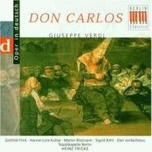 Giuseppe Verdi (1813-1901): Don Carlos (Ausz.), CD