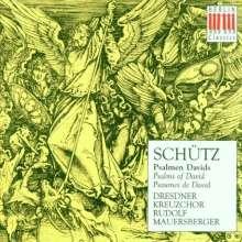 Heinrich Schütz (1585-1672): Psalmen Davids SWV 23-25,28,29,31,33-36,41, CD
