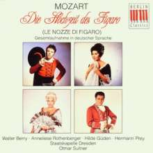 Wolfgang Amadeus Mozart (1756-1791): Die Hochzeit des Figaro (in dt.Spr.), 3 CDs