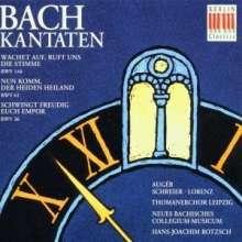 Johann Sebastian Bach (1685-1750): Kantaten BWV 36,61,140, CD
