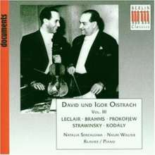 David & Igor Oistrach, CD