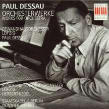 Paul Dessau (1894-1979): Orchesterwerke, CD